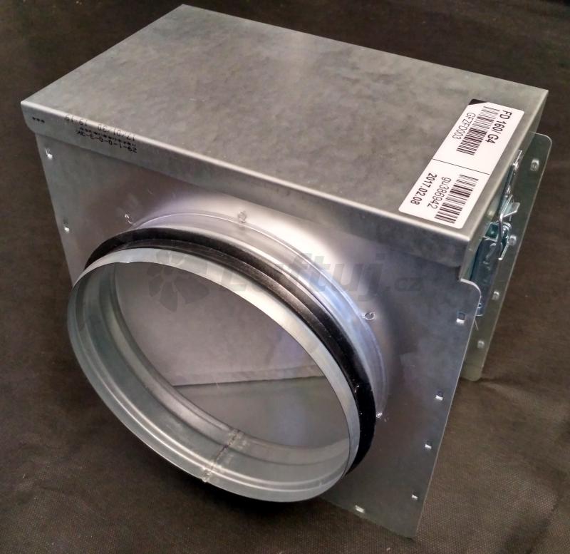 Rozvody vzduchu - Filtrační box před rekuperační jednotku (125, 160)