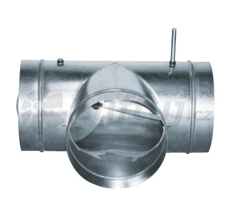 Rozvody vzduchu - Směšovací klapka pro zónování MSKM MIX (125-160-200-250-315-355-400-450-500)