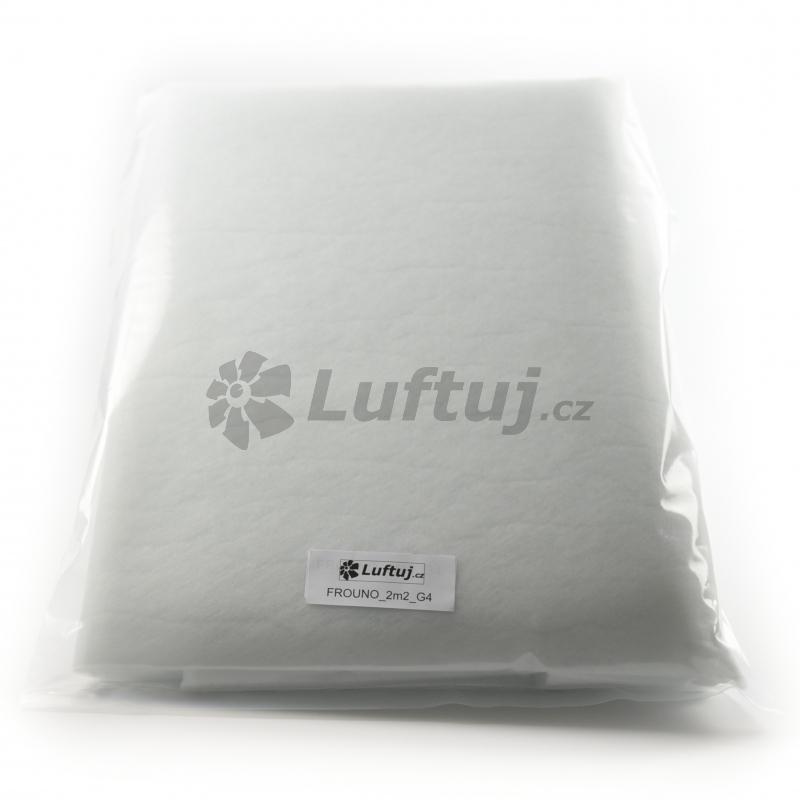 FILTRY - Filtrační tkanina G4, 2m2, tl. 12mm, pro vzduchotechniku (FROUNO)