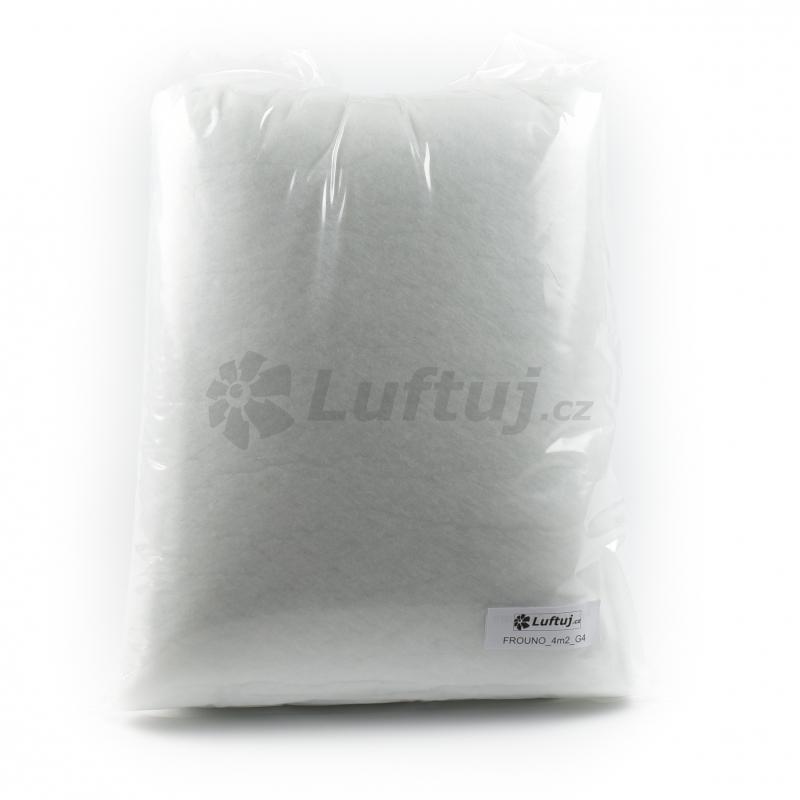 FILTRY - Filtrační tkanina G4, 4m2, tl. 12 mm, pro vzduchotechniku (FROUNO)