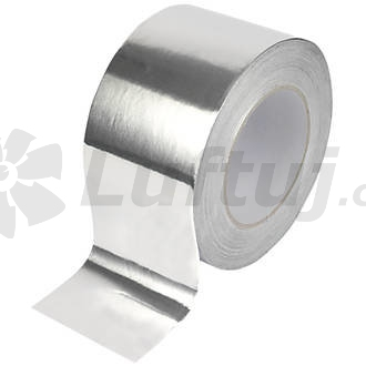 Rozvody vzduchu - Hliníková samolepicí páska ALU, 50mm, 50 m