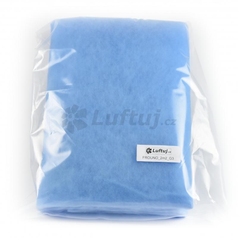 FILTRY - Filtrační tkanina G3, 2m2 pro vzduchotechniku (FROUNO)