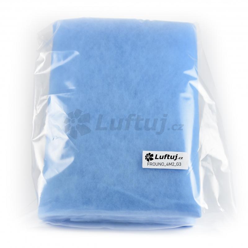 FILTRY - Filtrační tkanina G3, 4m2 pro vzduchotechniku (FROUNO)