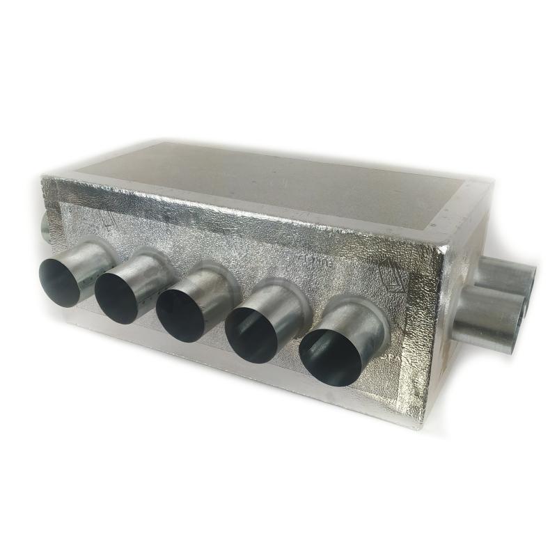Rozvody vzduchu - Rozdělovací izolovaný box ALPOX 160-(2-5-2)x75 - EKOLOGICKÝ