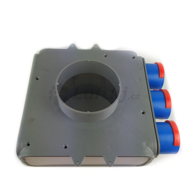 Rozvody vzduchu - Distribuční box OVA 3x75mm/160mm