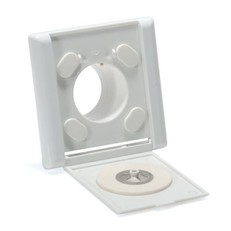 Designová zásuvka, sněhobílá, RAL 9016