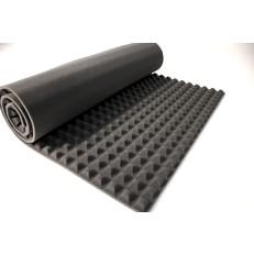 Hluková izolace pro vzduchotechniku jehlan 3cm, 1m2
