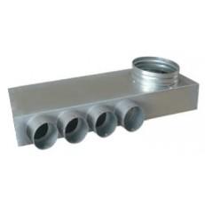 EDF-PL-BOX 160/4x75 rozváděcí box plochý
