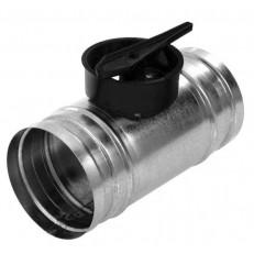Regulační klapka KSP s ručním ovládáním (125,160)