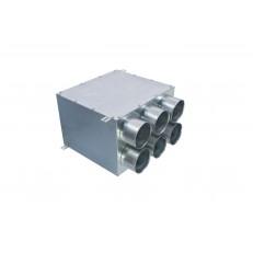 Distribuční box přímý s izolací 2x3x90-160