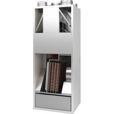 DUPLEX RA5 rekuperační jednotka s cirkulací (vytápění, klimatizace) - vertikální