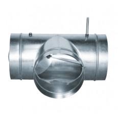 Směšovací klapka pro zónování MSKM MIX (125-160-200-250-315-355-400-450-500)