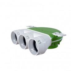 Stropní box AT 3x75 - 125 pro ventil