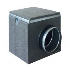 Filtrační izolovaný box MFLU s uhlíkovým filtrem (125, 150, 160, 200)