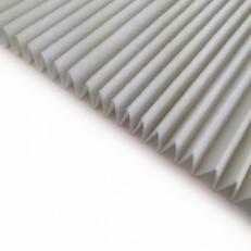 Skládaný filtr G4, 1m2, 18mm (50 skladů)