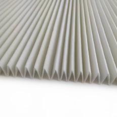 Skládaný filtr F5/M5, 1m2, 18mm (50 skladů)