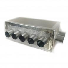 Rozdělovací izolovaný box ALPOX 160-(2-5-2)x75 - EKOLOGICKÝ