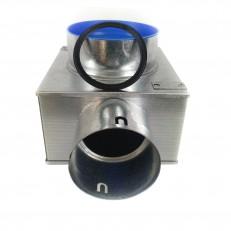 Stropní box nízký 125-1x90 s antibakteriální hlukovou izolací