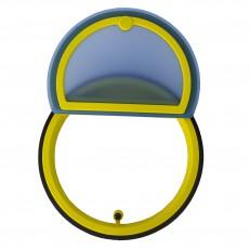RSKW (100,125, 160) supertěsná zpětná klapka kruhová s magnetem